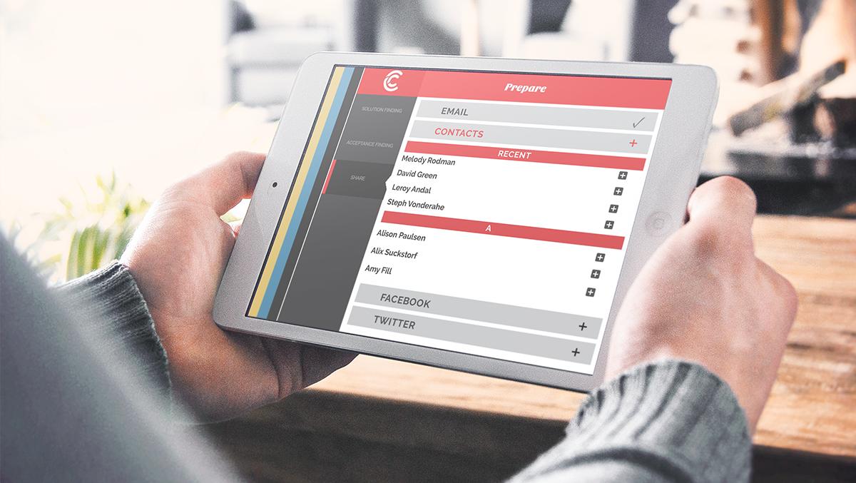 Contour Creative Tablet Application
