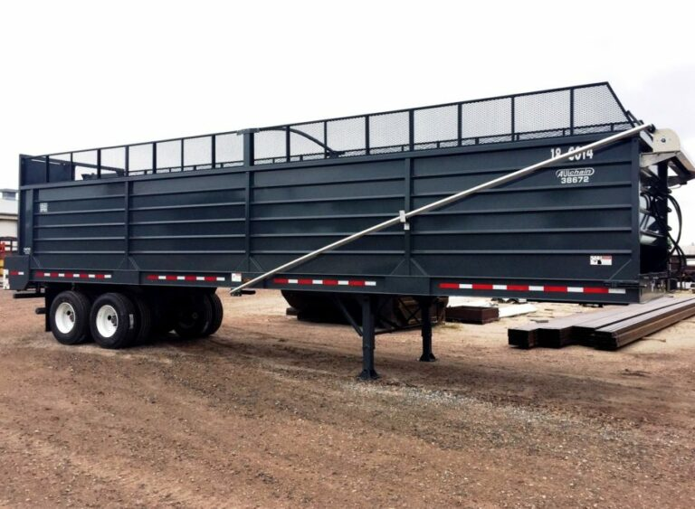 Aulick Forage Chain Floor Trailer