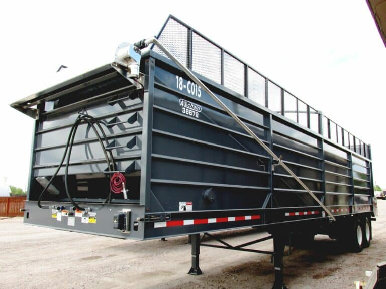 Aulick Silage Chain Floor Trailer