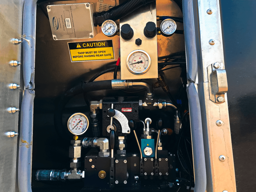 Aulick Industries Belt Trailer Controls