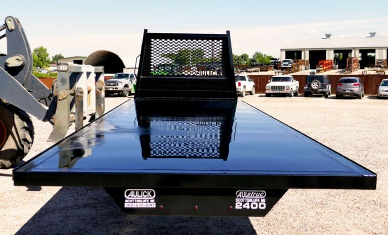Aulick Industries 24 foot Flatbed