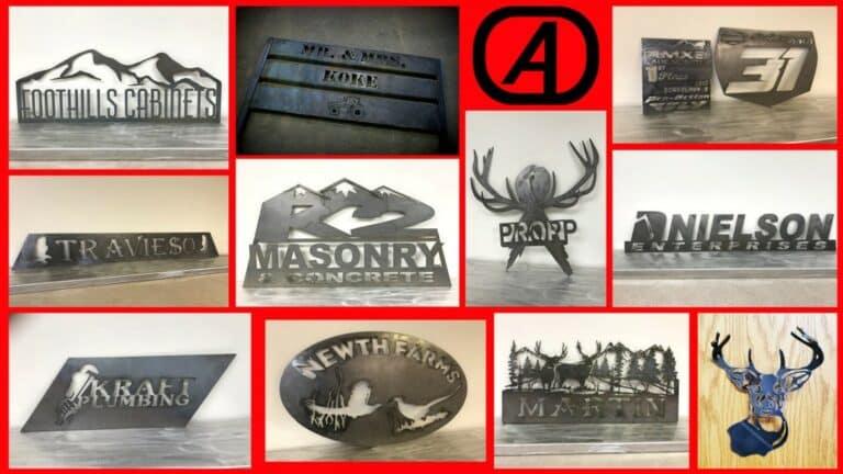 Aulick Industries Custom Metal Signs