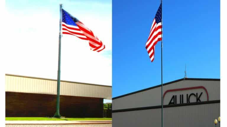 Aulick Industries Steel Flagpoles
