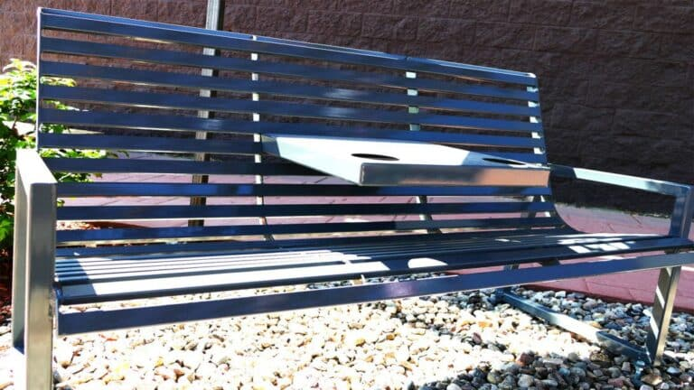 Aulick Steel Benches