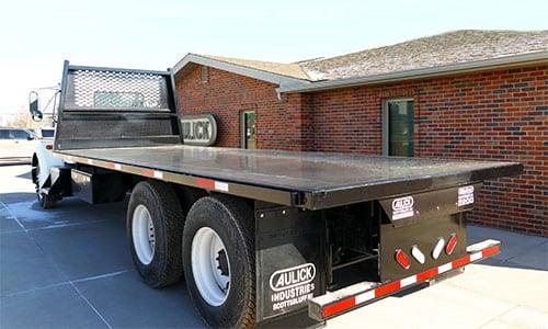 Aulick Truck Steel Flatbeds