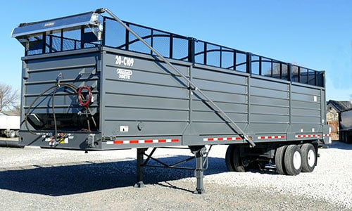 Aulick Chain Floor Trailer