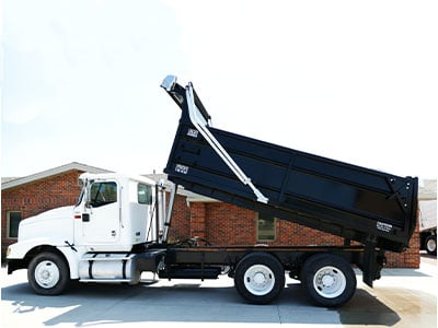 Steel Asphalt Dump Truck Box
