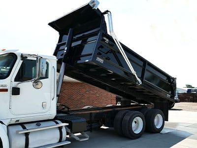 Aulick Asphalt Dump Truck Box
