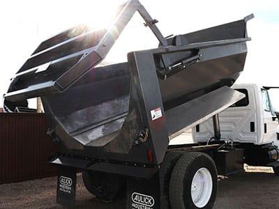Custom Steel Dump Truck Construction Box