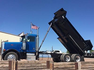 Steel Dump Truck Construction Box