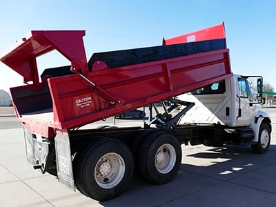 Aulick Landscape Dump Truck Box