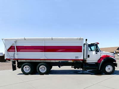 Aulick Silage Dump Truck Box with Tarp