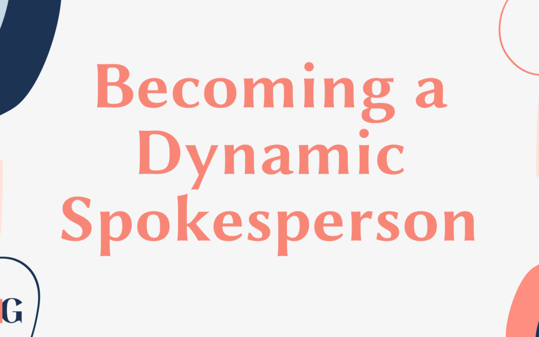 Becoming a Dynamic Spokesperson- Embracing the Video Age