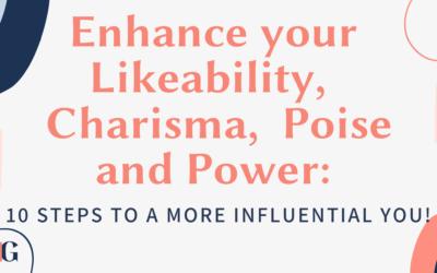 Enhance your Likeability, Charisma