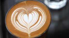Latte foam: Photo by Piyato via freedigitalphotos.net