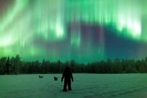 Aurora Borealis (Photo courtesy of Antti Pietikianen and www.theaurorazone.com)