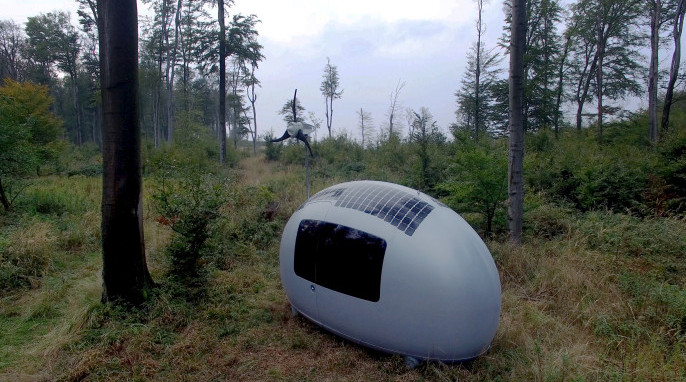 tiny house, off-grid living, Nice Architects