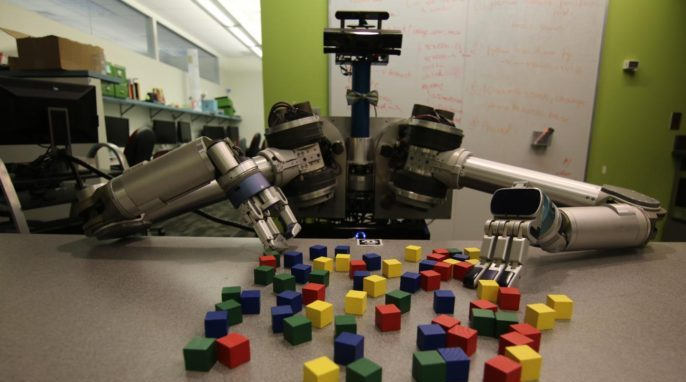 New software developed by Carnegie Mellon University helps mobile robots deal efficiently with clutter, whether it is in the back of a refrigerator or on the surface of the moon.