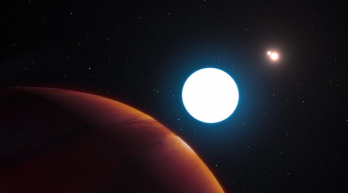 planet orbiting two suns