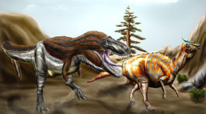 Which Dinosaur Gave Rise to Tyrannosaurus Rex?