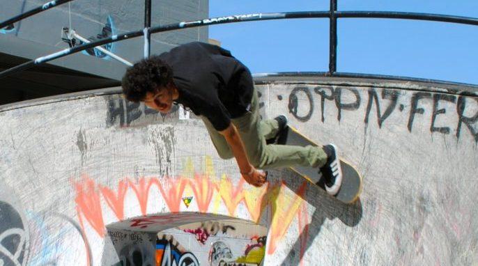 Science of Skateboarding, Halfpipe Physics