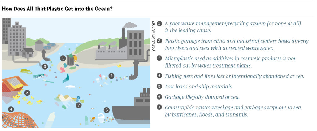 Tiny plastic particles, or microplastics, have made their way from our soil, oceans, and bodies. Plastic pollution on the nanoscale can have dangerous new properties.
