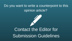 Do you want to submit a counterpoint to this opinion article?