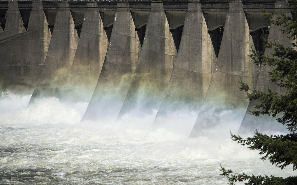 hydropower dam