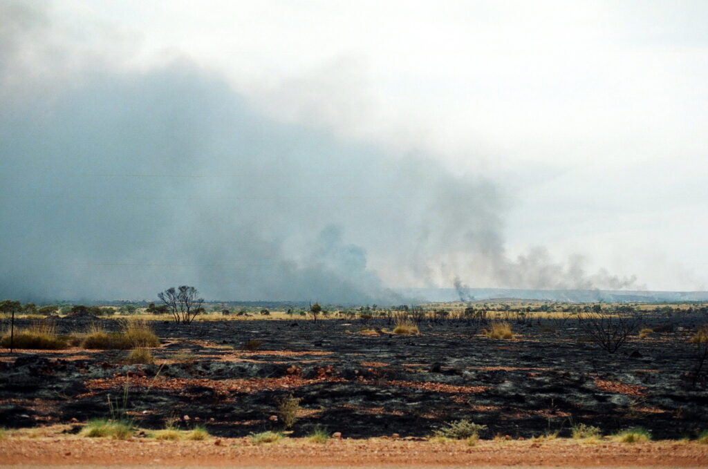 Wildfires or bushfires in Australia