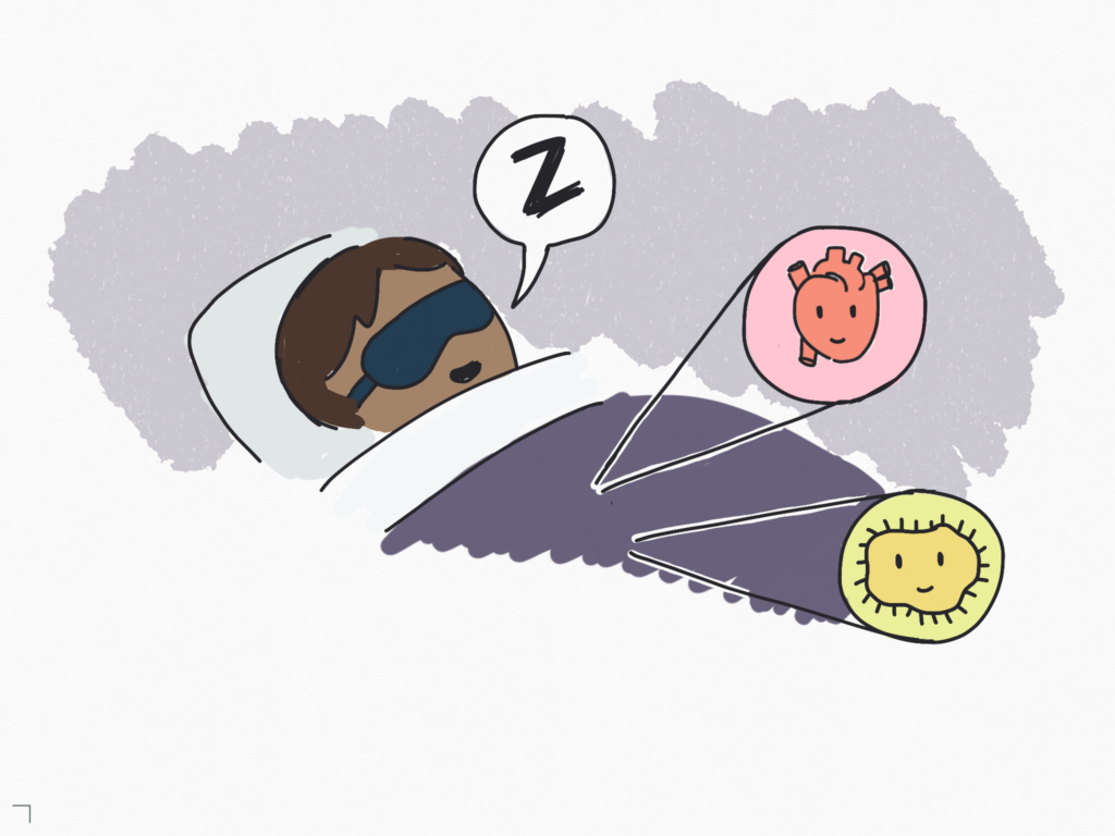 In the meantime, it's always good to make improvements to our sleep habits and adopt helpful practices for gut health.