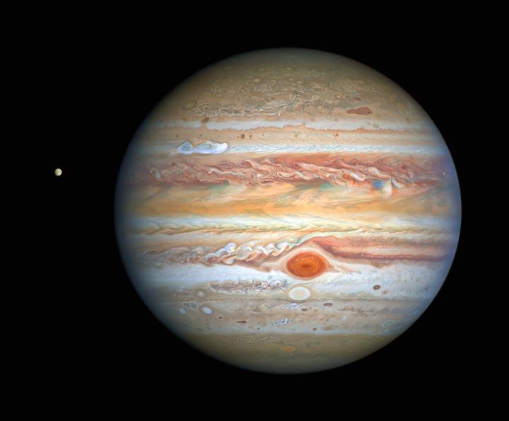 Hubble image of Jupiter