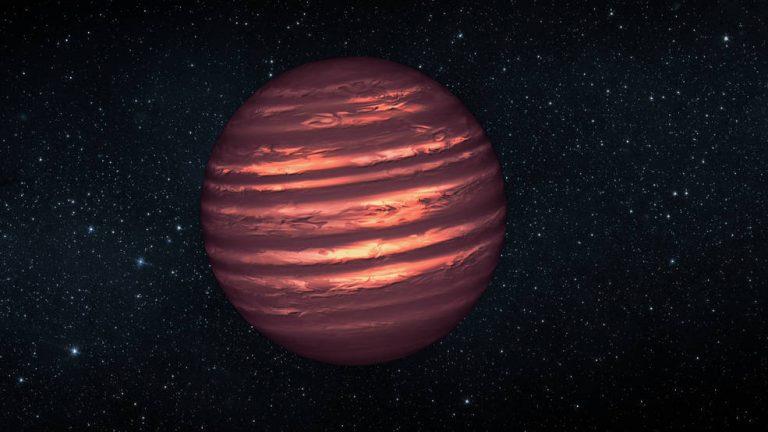 brown dwarf star, an artist's concept