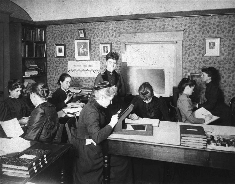 human computers, history of women in astronomy