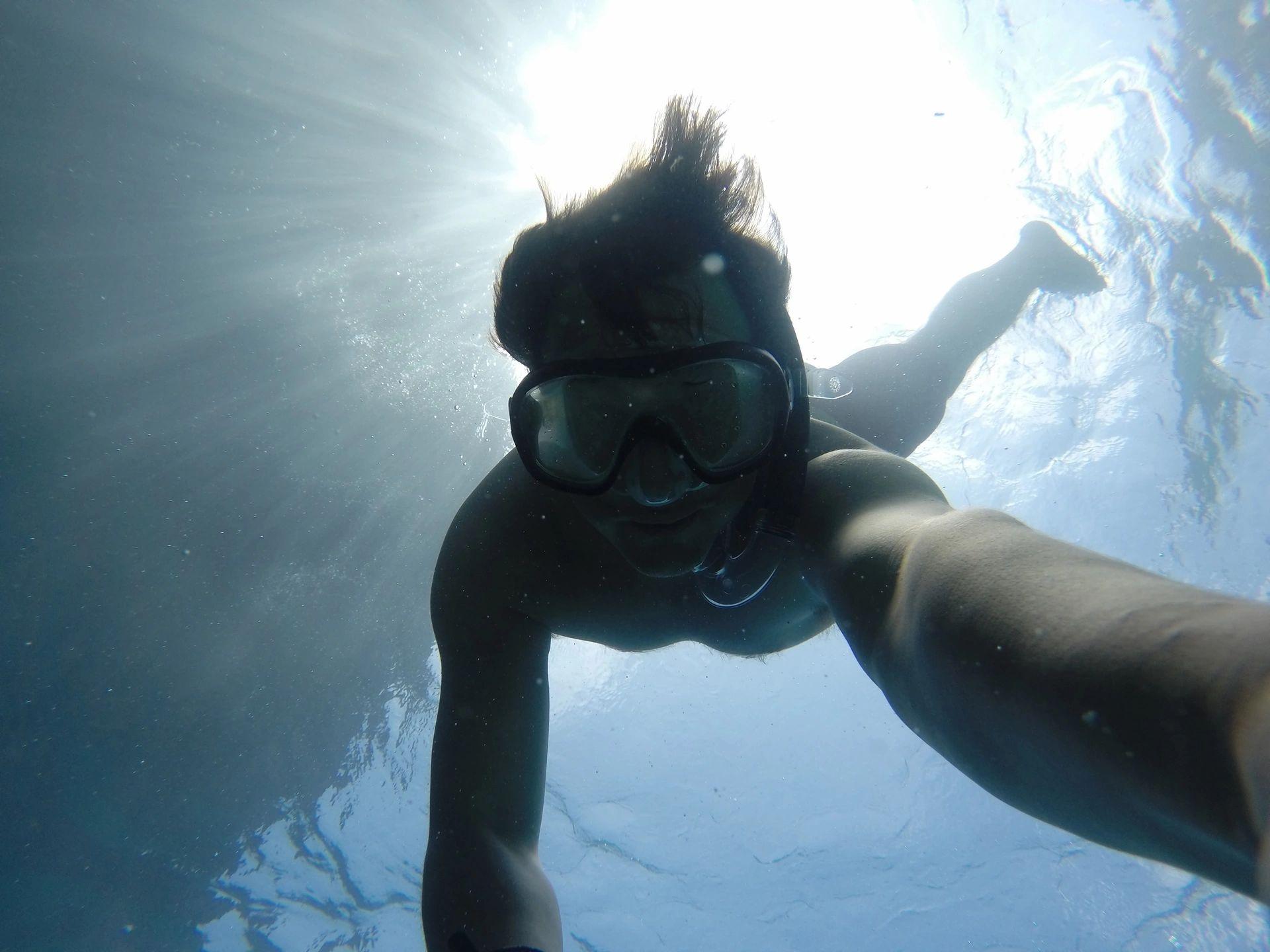 ancient human ancestors underwater