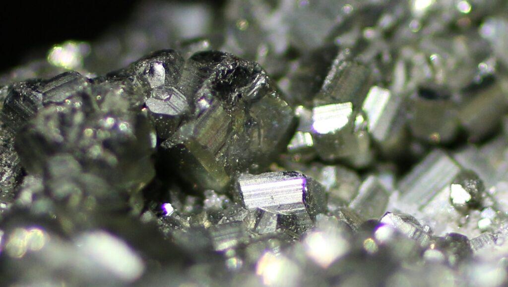 Hidden value of fool's gold: Macro photo of Iron pyrite crystals by  Glenn Marsch