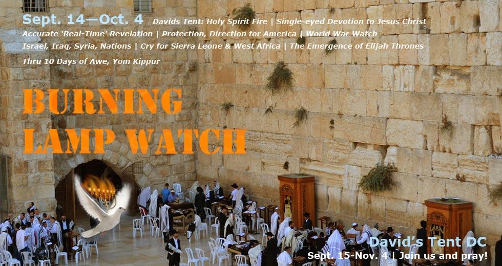 Burning Lamp Watch: For Zion's Sake