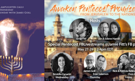 TOWARDS PENTECOST—Zoom Call Today! Conference Call Tonight