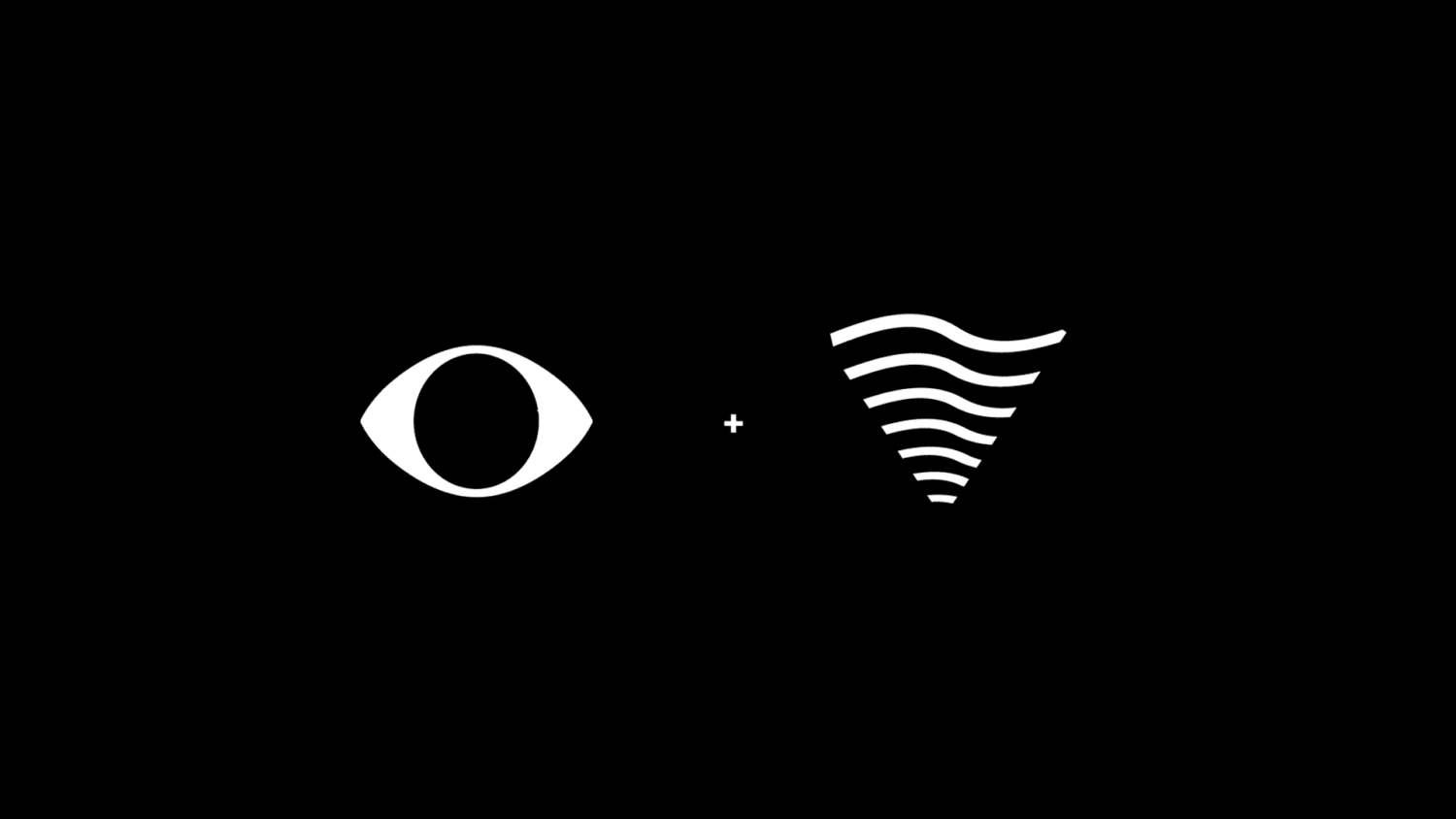 sound and vision logo construction