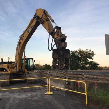Construction Underway on Ridgewood Road