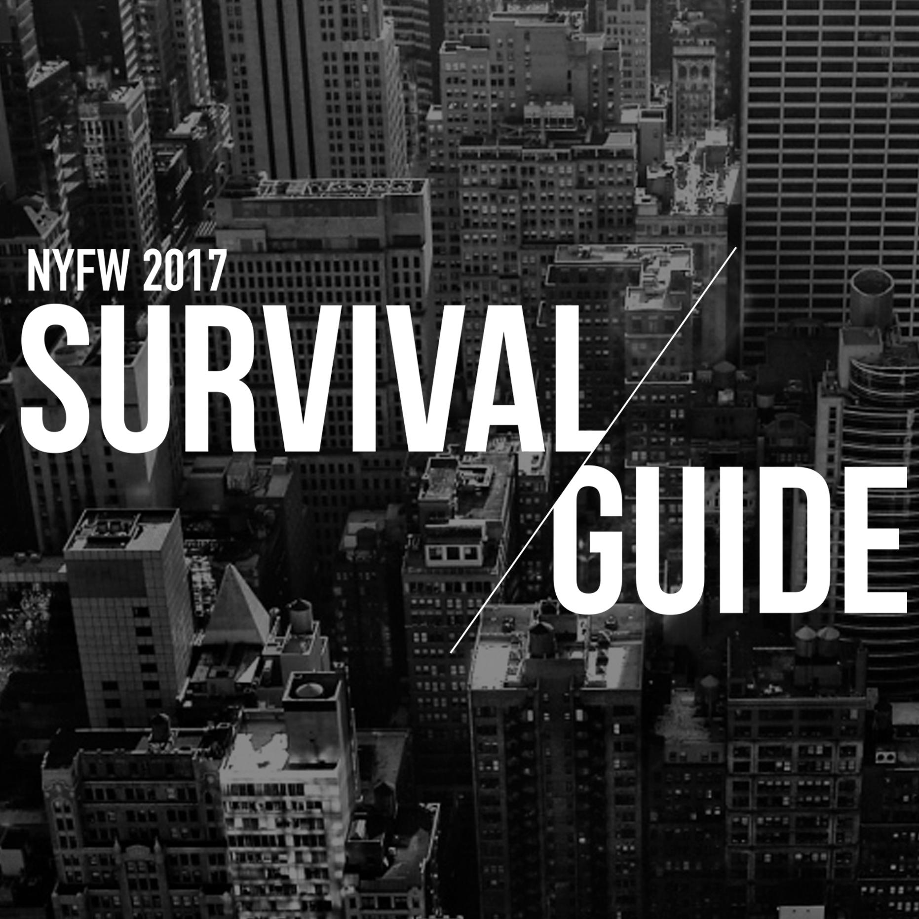 NYFW Survival Guide