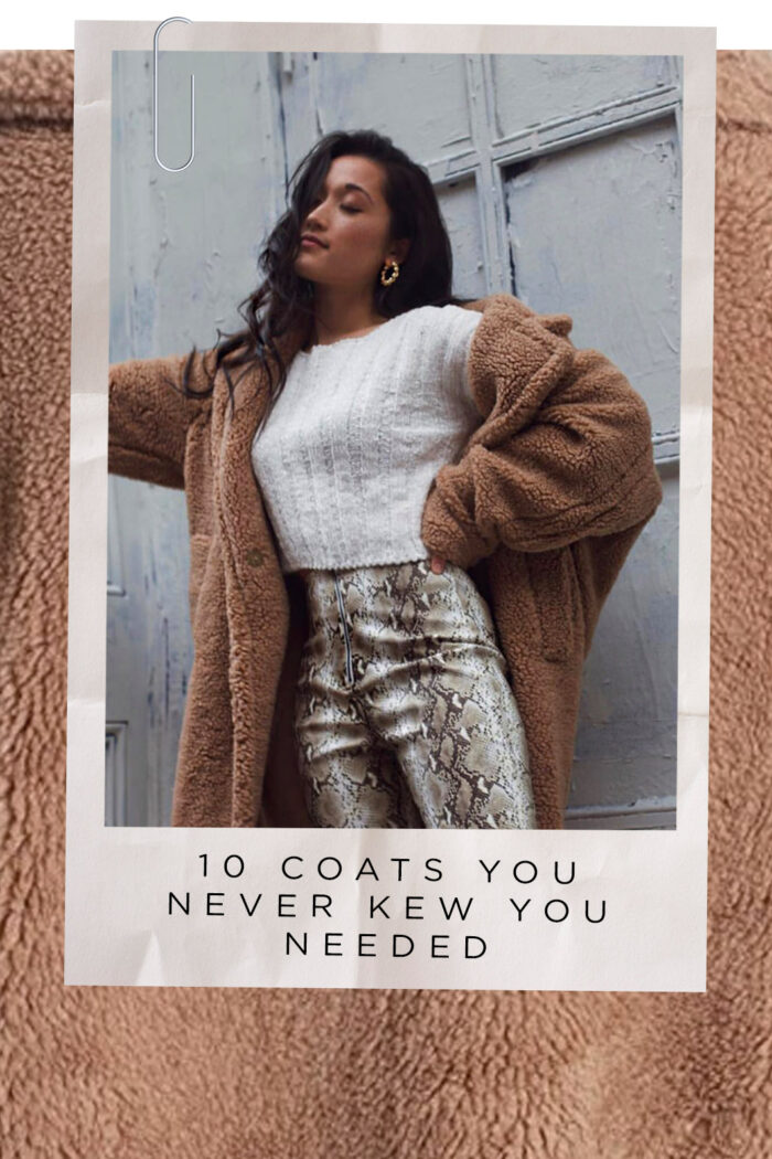 The 10 Coats You Never Knew You Needed