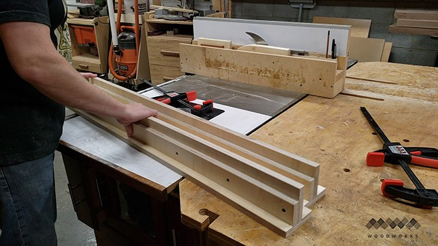 making router sled rails