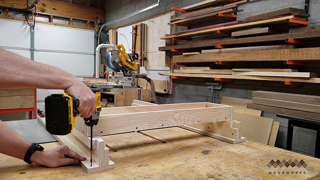 assembling a router sled