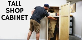 tall shop cabinet