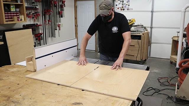 cutting custom tool wall panel