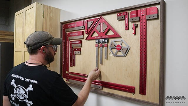 custom tool wall mwa woodworks