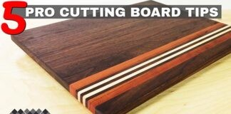 tips for making cutting boards