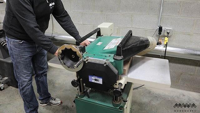 flattening cutting board