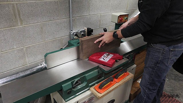 using the jointer II