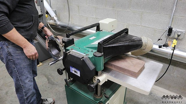 using the planer